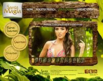 Santa Magia - Web Design