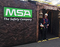 MSA EXHIBITION DISPLAY STAND