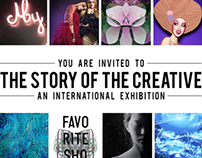 Mostra coletiva The Story of The Creative em NY