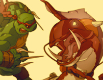 Raph and Fish Face