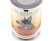 Madigan's animal feed packaging