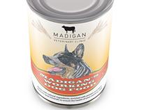 Madigan's animal feed packaging