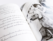 Tanishq 'Diamonds of Class' book design