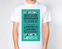 Typography Shirt Design