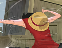 Luffy vs Rutchi