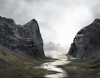 Fantasy landscape Concept Art