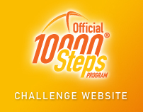 10,000 Steps Challenge Website
