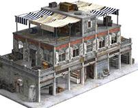 3D Model - City Store Apartment - 3DSquirrel.co.uk
