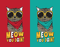 Cool Cats T-Shirt Designs