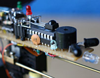 Solar Powered Microcontroller Head