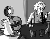 Boulbi and the Scientist- Short Animation and Animatic