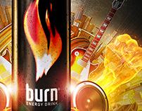 AD: Burn Energy Drink