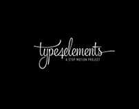Type4elements | A stop motion project |