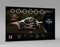 Suzuki HeavyBikes Webdesign
