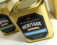 Heritage Tea Packaging – The Coffee Bean 2013