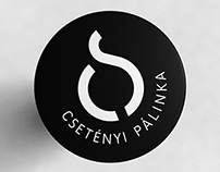 Csetényi pálinka - spirits packaging