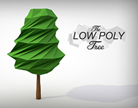 Low Poly Tree - Abstract Arts