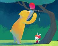 Bears,Friends