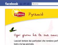 Lipton Pyramid Facebook app