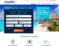 CheapOair Website Redesign