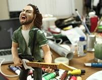 Eddie Vedder / Escultura