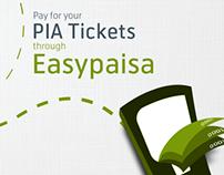 Easypaisa PIA Ticket Plan