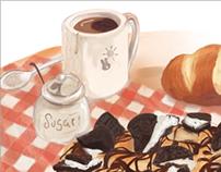 Dessert+Tea/Coffee Time