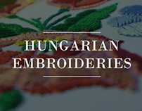 Hungarian embroideries