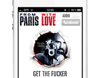 From Paris With Love Movie iPhone App