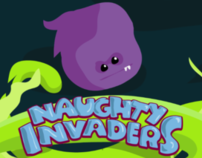 Naughty Invaders Art