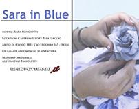 Sara in Blue