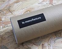 La Manufacture - rebrand (unchoosen)