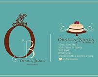 Ornella Bianca Patisseries Branding