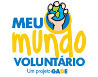 Logo Design and Branding - Meu Mundo Voluntário - GADE