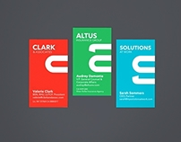 Clark & Associates Brand Identity