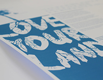 Love Your Land - Research Poster