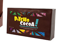 Psycho Cocoa Packaging