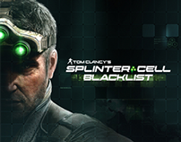 Splinter Cell: Blacklist | Graphic Design