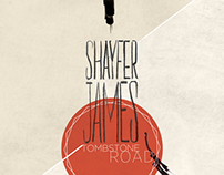 Album Cover for Tombstone Road by Shayfer James