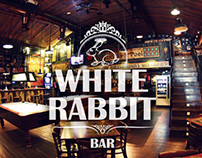 White Rabbit bar - Branding