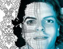 self portrait / gradient mesh
