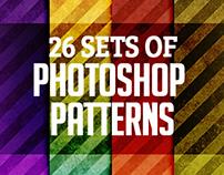 Photoshop Patterns: 26 Sets