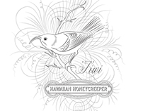 Hawaiian Honeycreeper