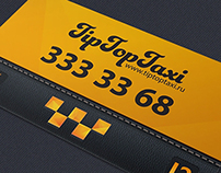 Branding for TipTopTaxi