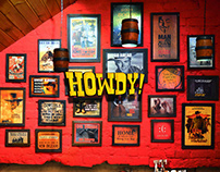 HOWDY! Restaurant Menu