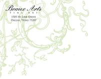 Beaux Arts New Branding