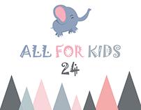 All for Kids 24 logo