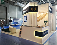 Stand for ROSGEO on EAGE 2017 Paris (GxGroup)