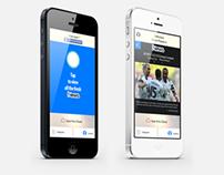 News App - iPhone User Interface
