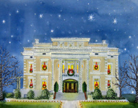 Christmas Tea Invitations for Dallas Woman's Forum